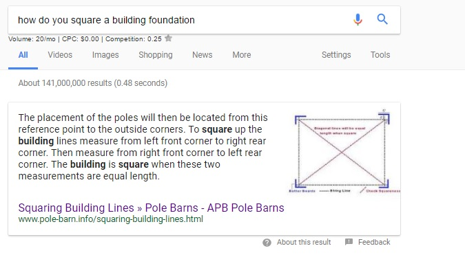 How do you square a building foundation answer box.jpg